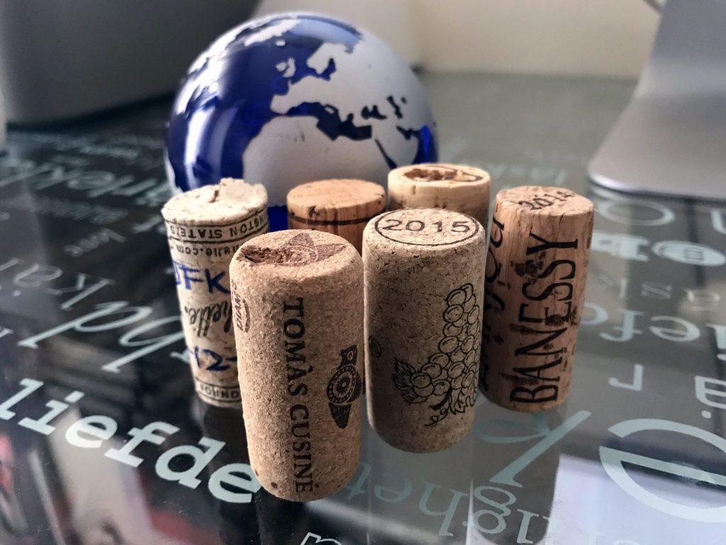 Sobre vinos, botellas y viajes