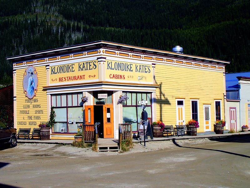 El camino del oro hacia el Klondike. Dawson City