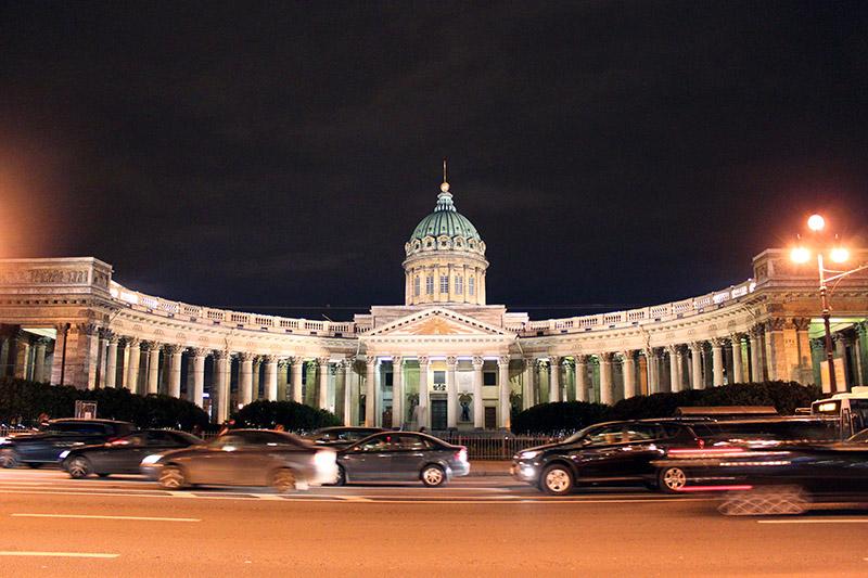 Catedral de Kazan. San Petersburgo