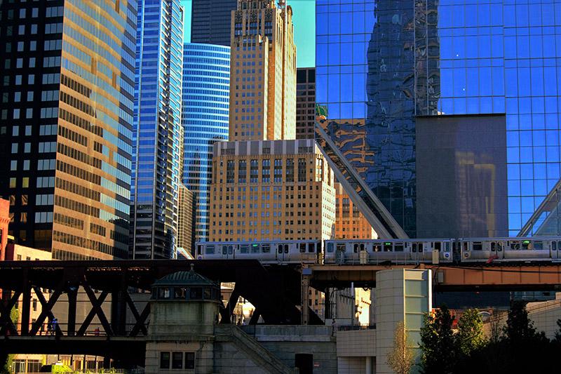 El metro de Chicago