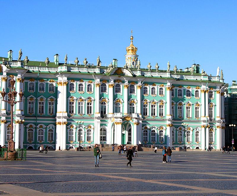 Palacio de Invierno y museo del Ermitage. San Petersburgo