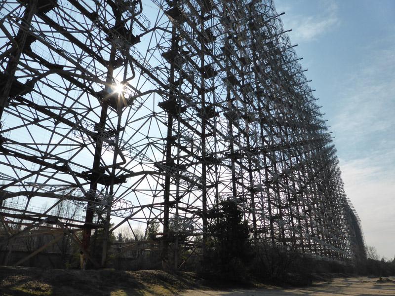 Chernóbil: Radar anti-misiles soviético DUGA-3