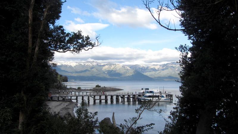 Puerto Parque Nacional los Arrayanes, Patagonia