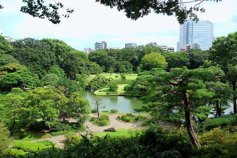 Jardín Rikugi-en. Japon