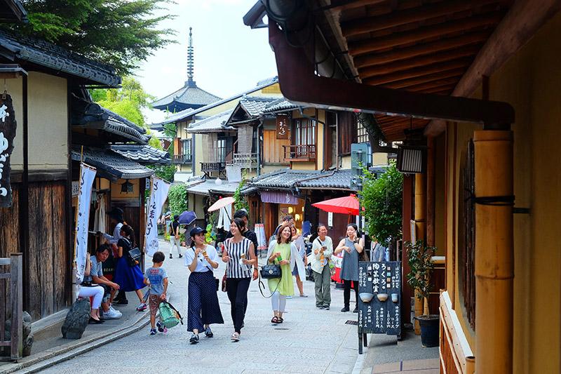 Gion, el histórico barrio de las geishas. Japon