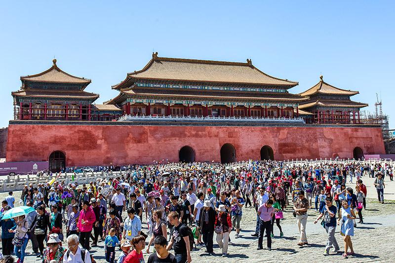 Plaza de Tienanmen. Pekin