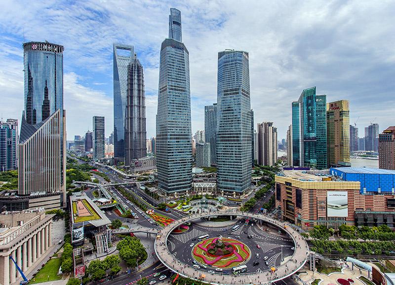 Nuevo distrito de Pudong, Shanghái