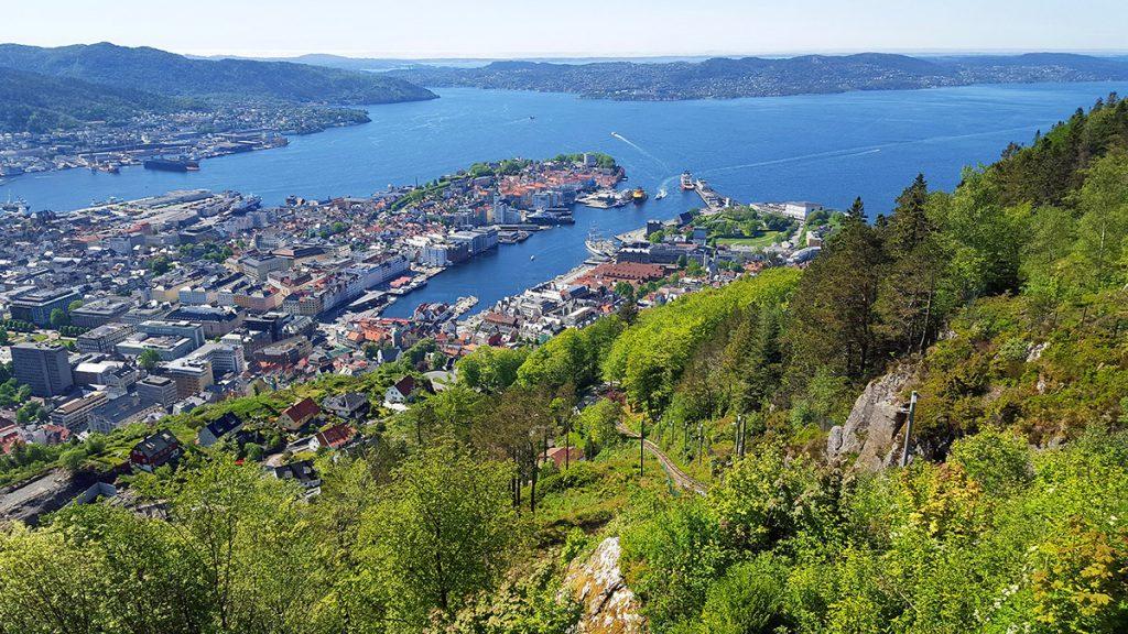 La ciudad de Bergen