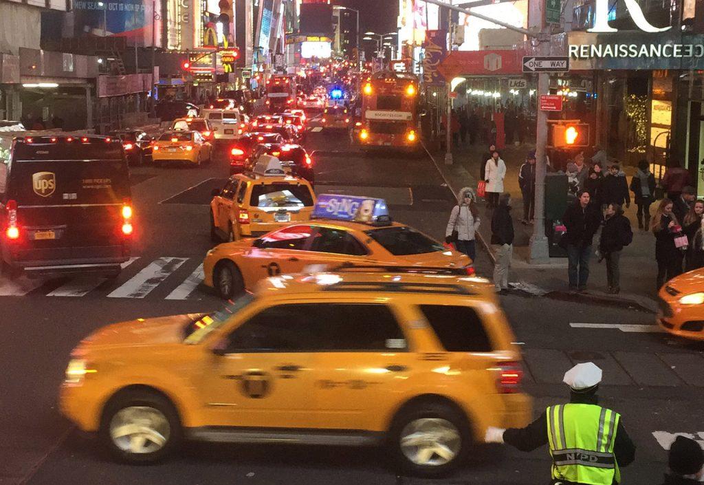 El trafico neoyorkino