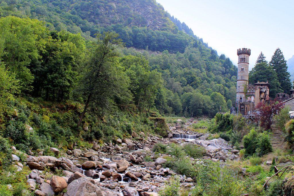 El castillo de Rosazza