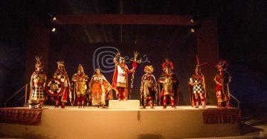 Lanzamiento de las Fiestas del Cusco en la Huaca Pucllana - Promperú