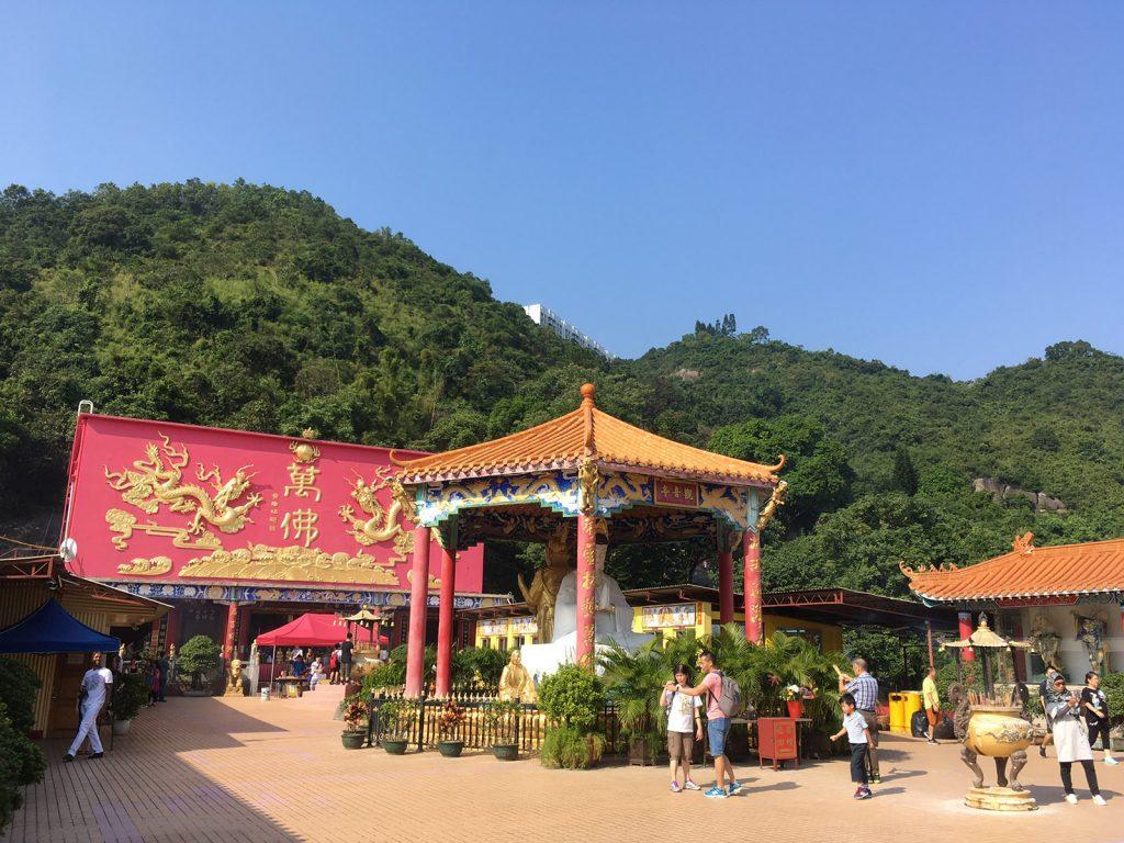 Hong Kong: Monasterio de los 10.000 Budas