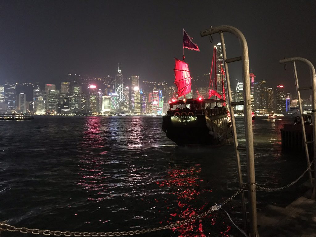 Hong Kong: A Symphony of lights