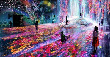 museo de arte digital de Tokio