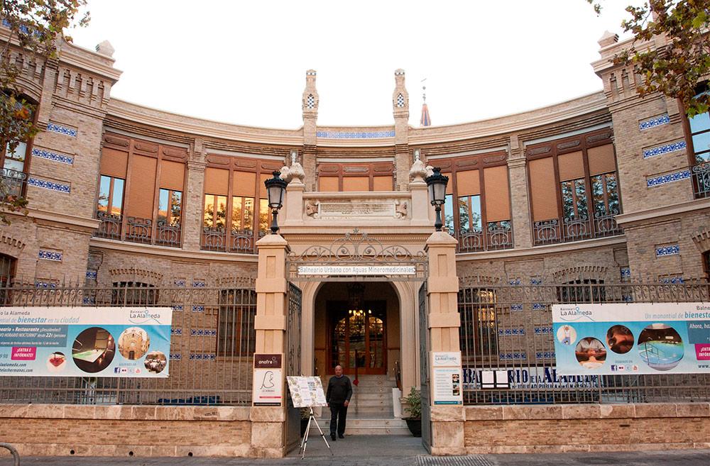 El Balneario La Alameda