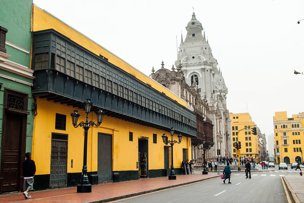 Casa del Oidor y Catedral de Lima