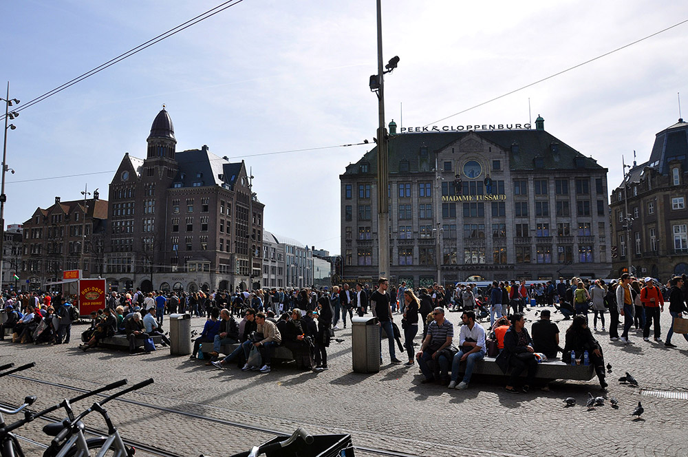 Amsterdam, Plaza Dam