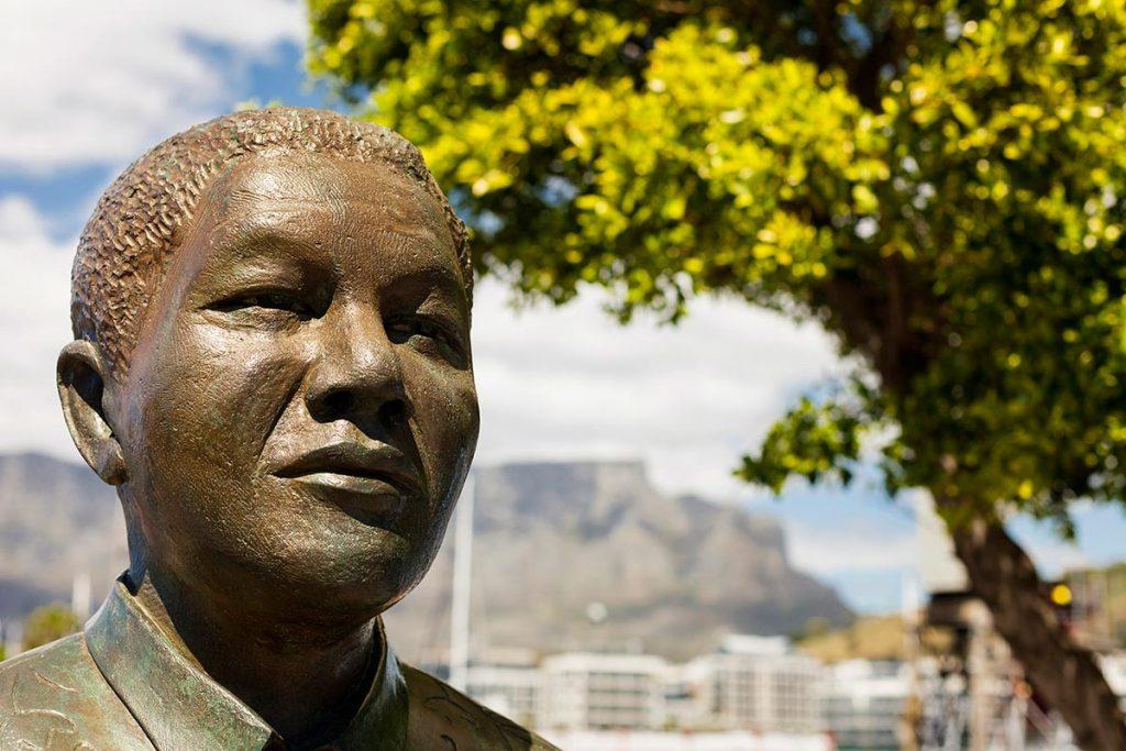 Sudáfrica, Ciudad del Cabo, estatua de Nelson Mandela