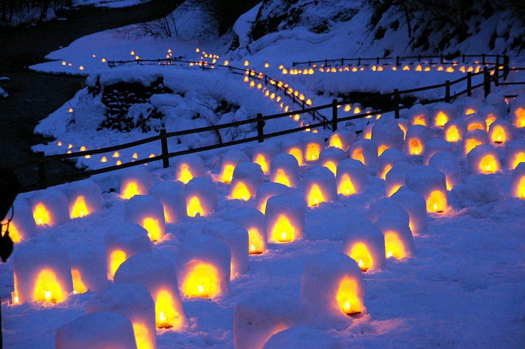Festival de Nieve en Yumoto Onsen