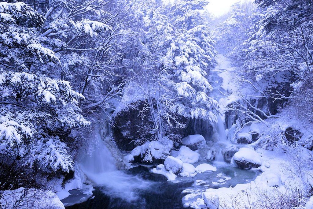 la cascada de Ryuzu