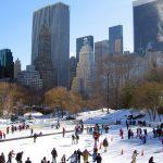 Fin de año en Nueva York. Central Park