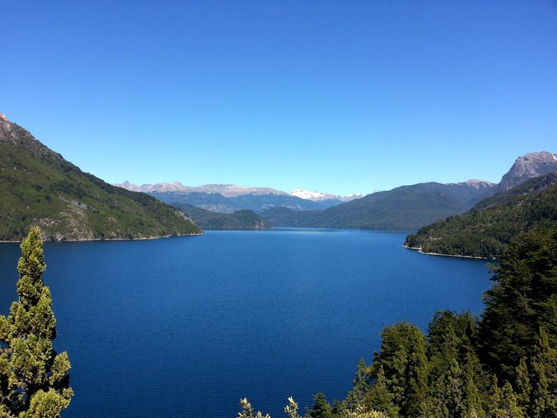 Parque Nacional Los Alerces Lago Futalaufque, Patagonia Argentina