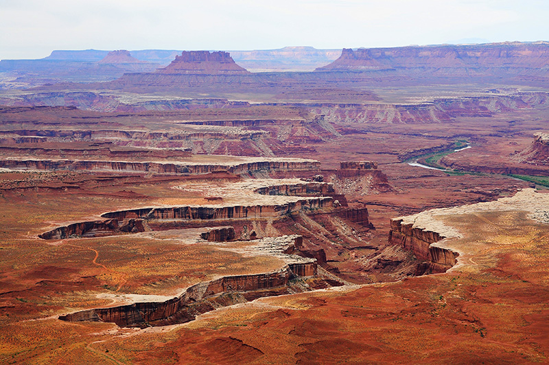 Vistas desde Grand View Point Road, Canyonlands