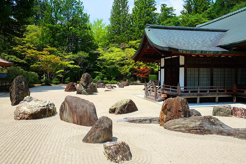 Templo Kongobuji. Japon