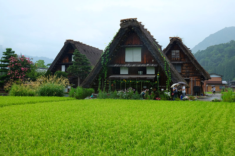 Shirakawa go. Japon