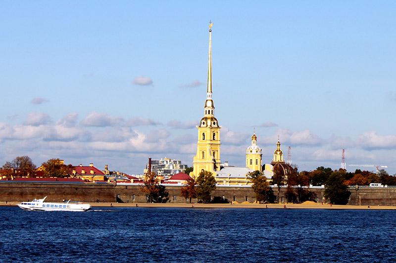 La Fortaleza de Pedro y Pablo. San Petersburgo