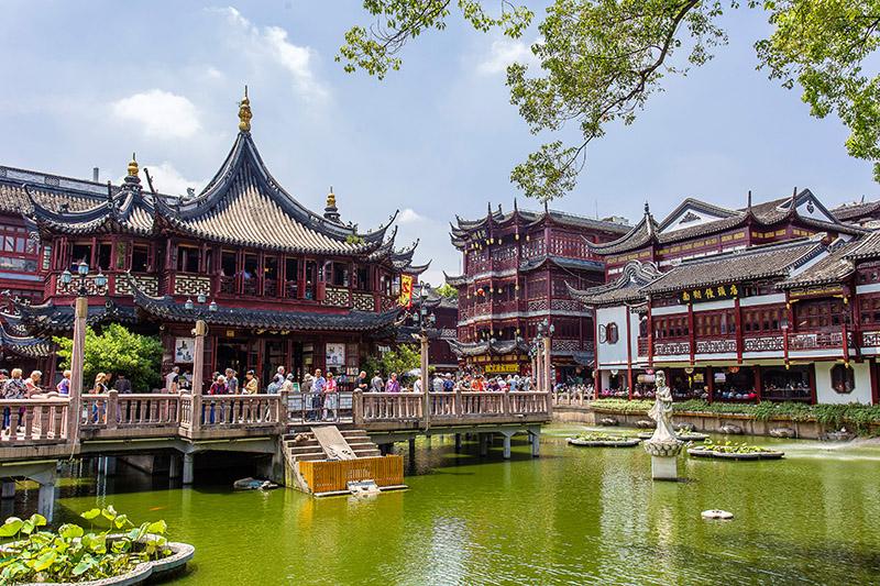 Los jardines de Yuyuán. Shanghai