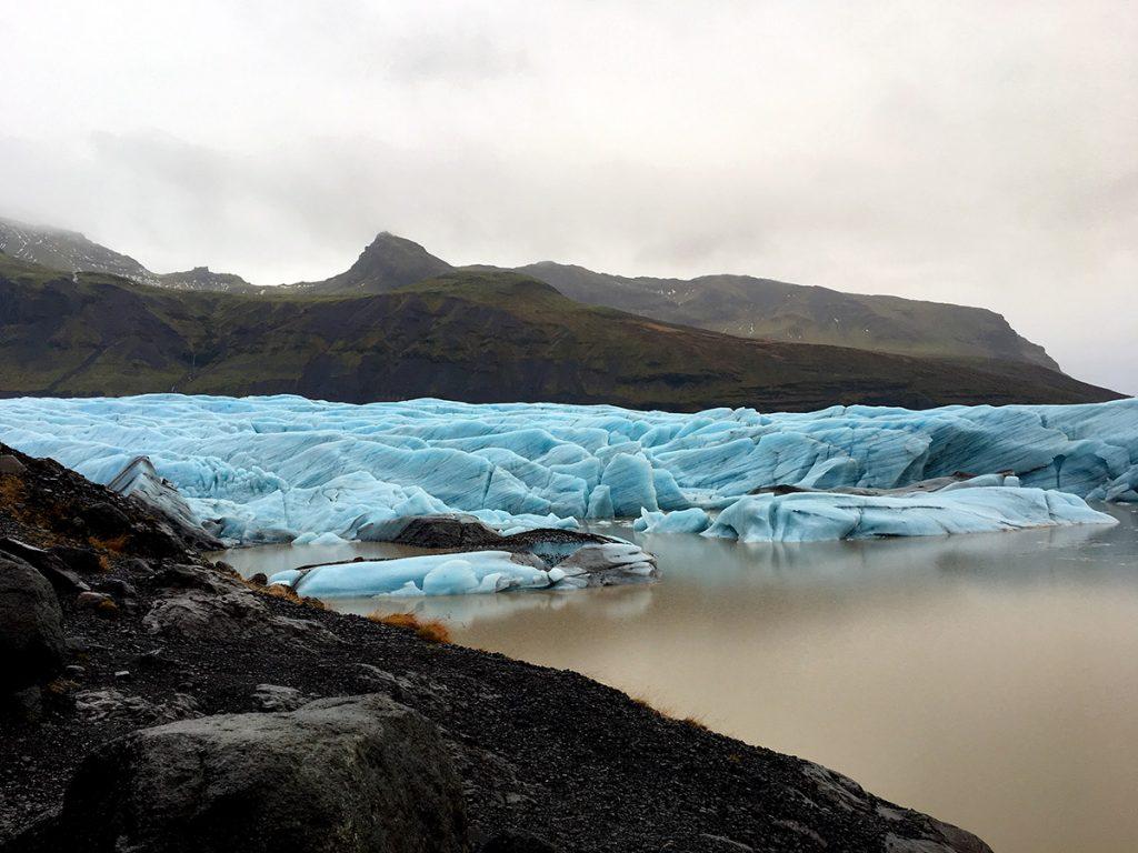El glaciar Svinafellsjökull