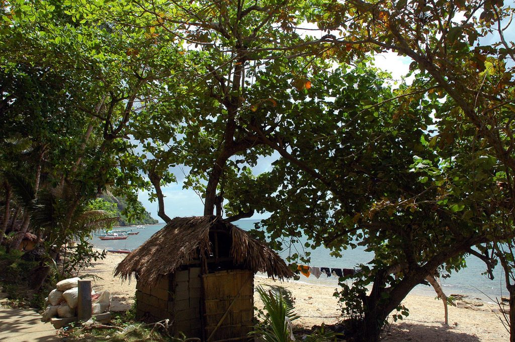 Luzón. Pueblo de pescadores