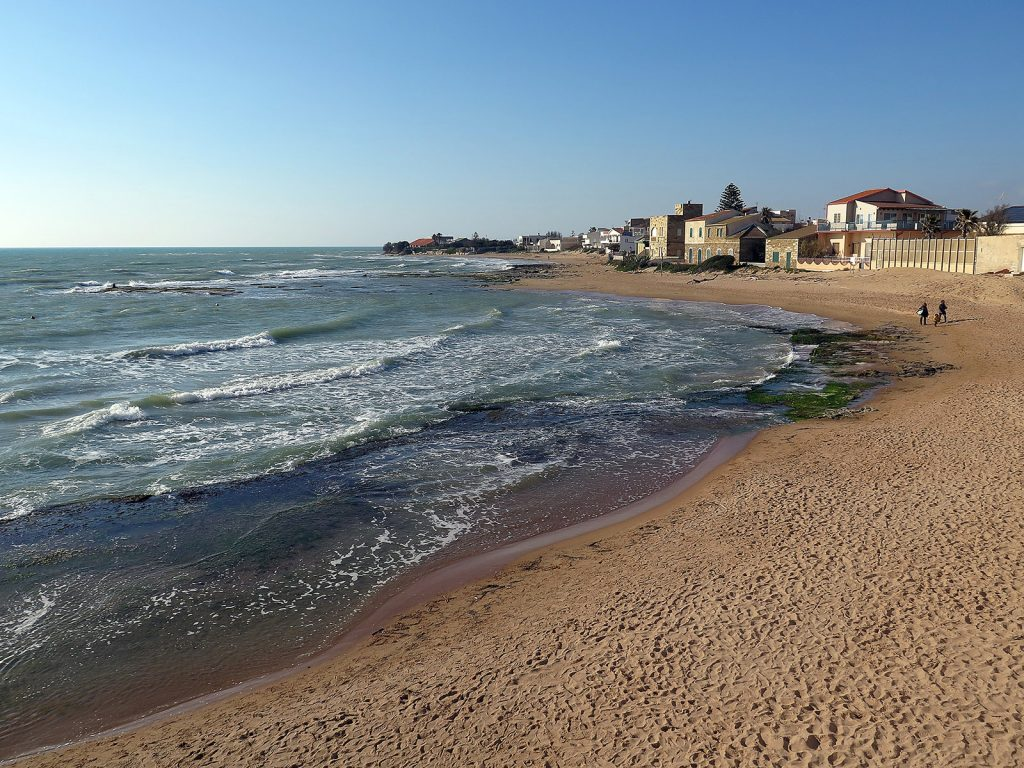 Comisario Montalbano: Playa de Punta Secca