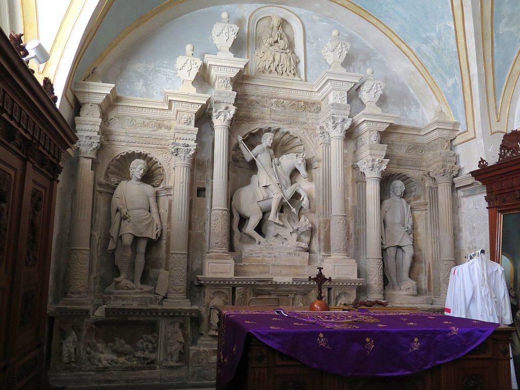 Comisario Montalbano: sacristía de la catedral