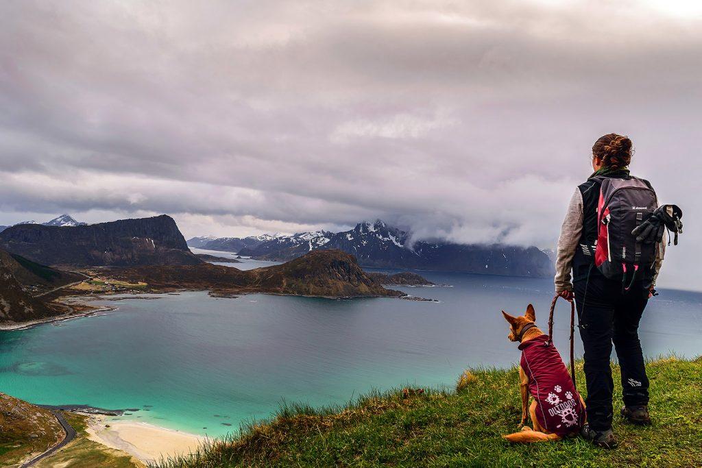 Noruega: Haukland beach