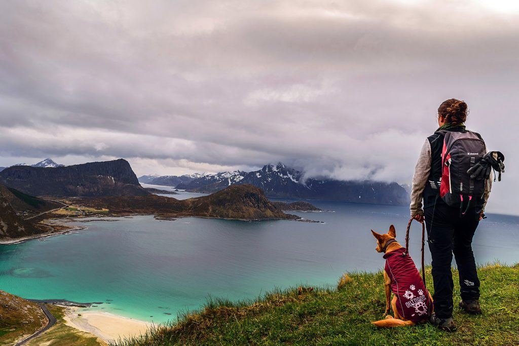 Islas Lofoten. Haukland beach