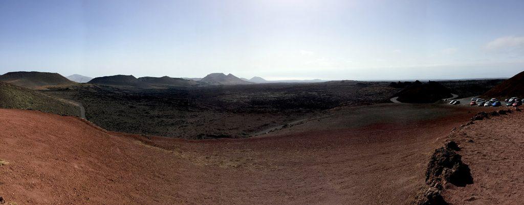 Panoramica del Timanfaya