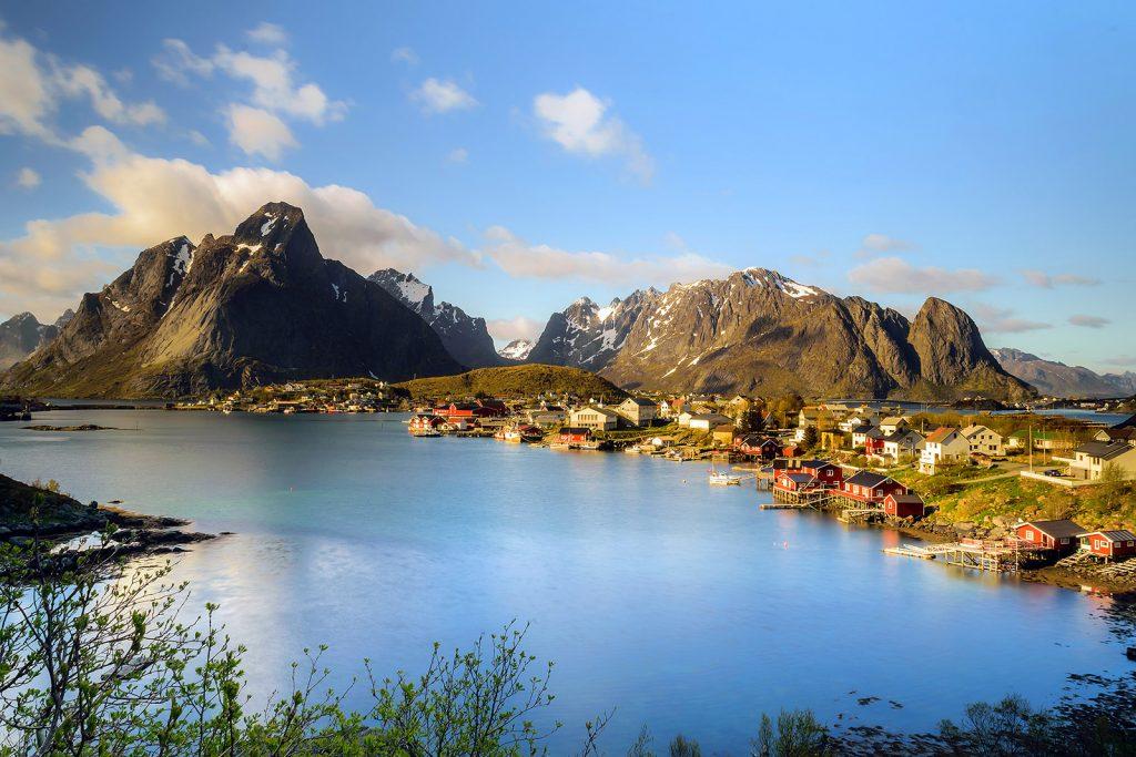 Noruega: Reine