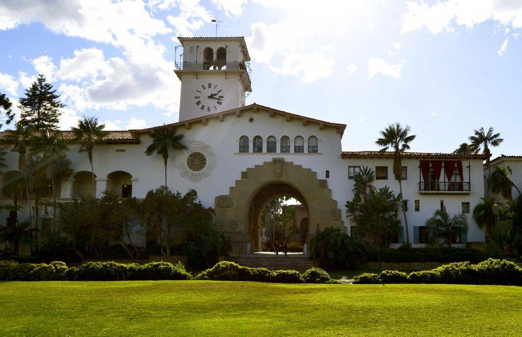 costa Oeste de Estados Unidos. Country Courthouse, Santa Bárbara