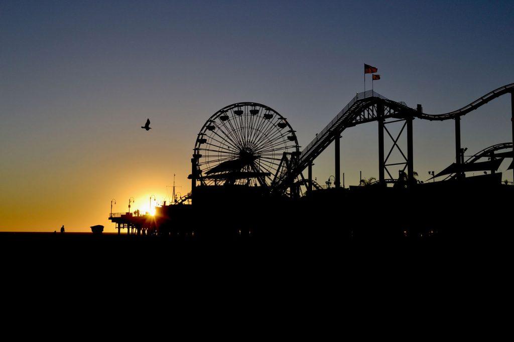 costa Oeste de Estados Unidos. Santa Mónica Pier