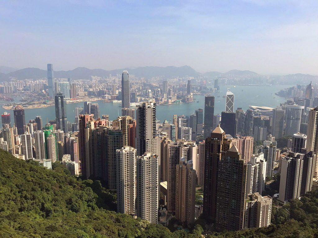 Hong Kong: Vista desde Victoria Peak