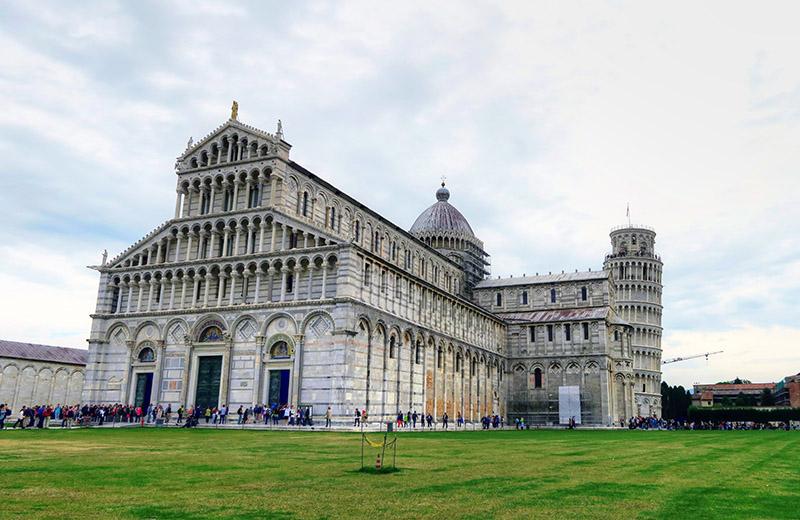 Viaje a la Toscana, Pisa