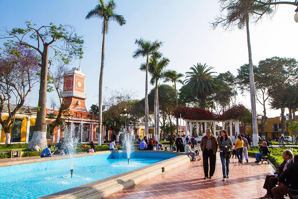 Plaza de Armas de Barranco