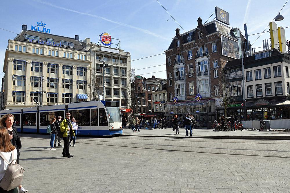 Que ver en Ámsterdam en 2 días, The Bulldog Palace en el Leidseplein