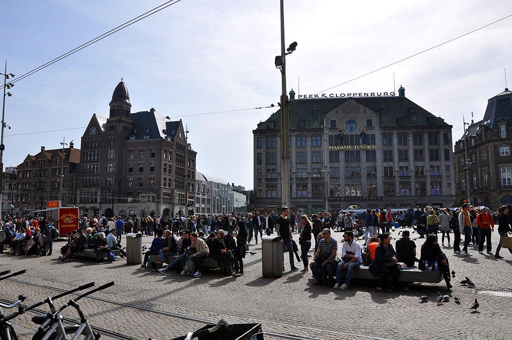 Que ver en Ámsterdam en 2 días, Plaza Dam