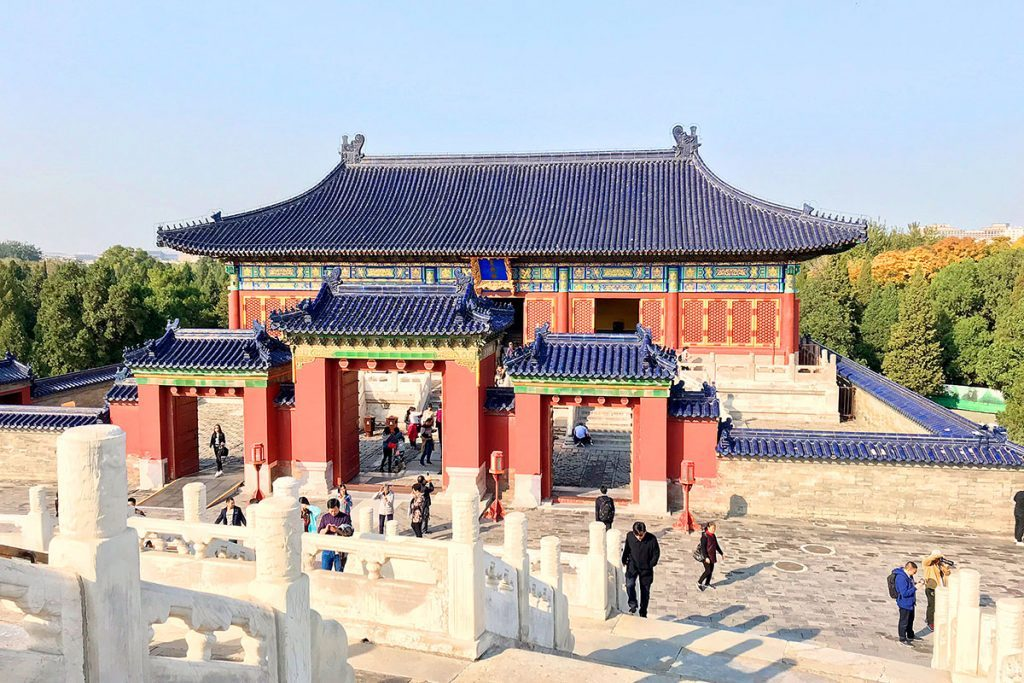 Pekín. Templo del cielo