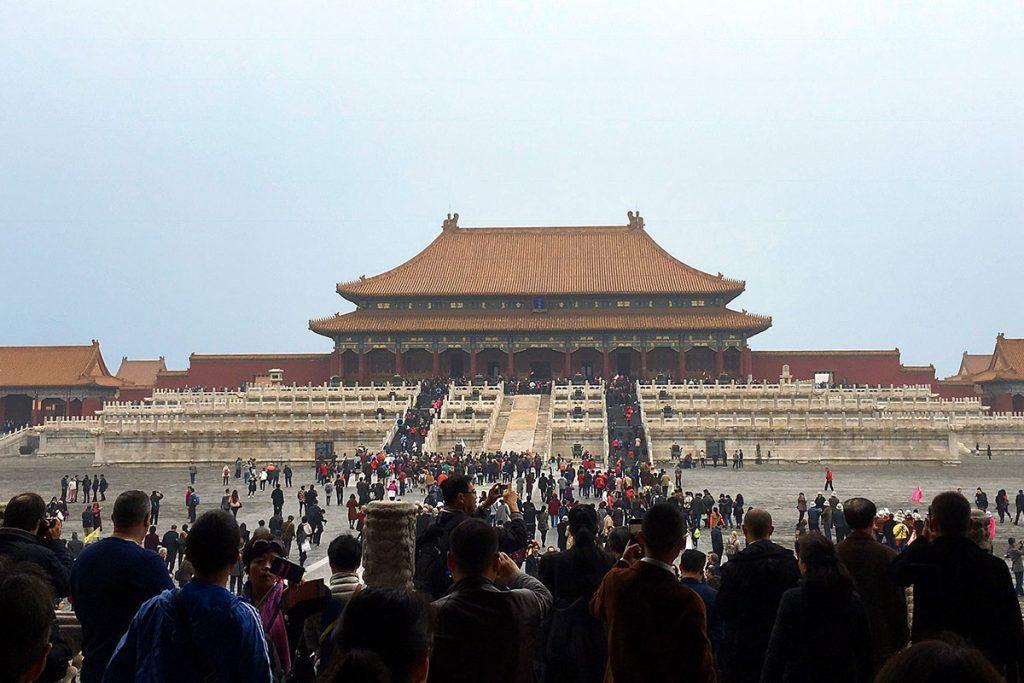 Pekín. Ciudad Prohibida - Palacio de la suprema armonía