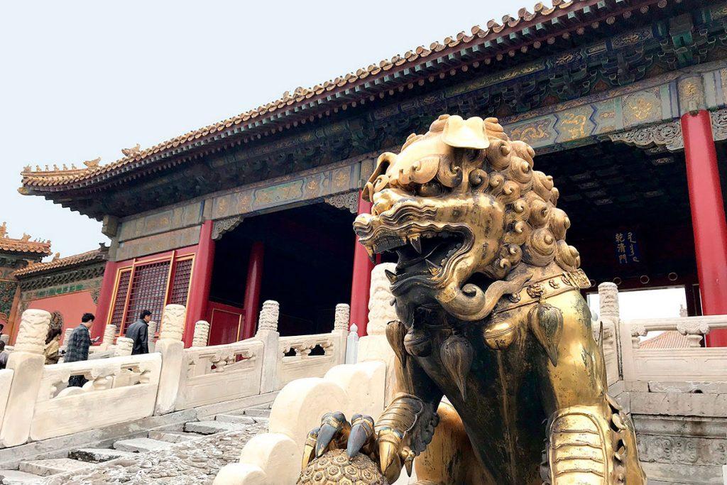 León de Fu en la Ciudad Prohibida