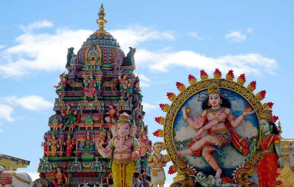 Viajar a Isla Reunión - Templo Tamil en Saint Denis